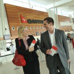 Check in at Adelaide Airport