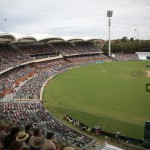 Game day view at Adelaide Oval, Adelaide