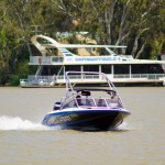 House Boat on the River, Murraylands, South Australia