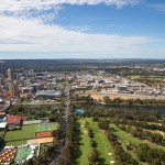 New Developments aerial view, Adelaide
