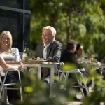 Outdoor dining, National Wine Centre