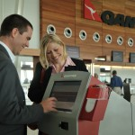 Self check in, Adelaide Airport